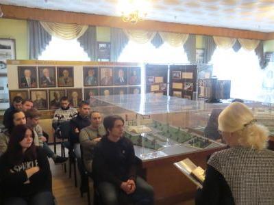 4 декабря 2019 года в музее энергетики Пензенской ТЭЦ-1 прошла экскурсия для студентов Колледжа промышленных технологий.
