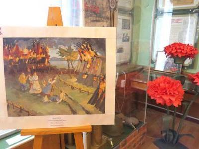 """12 апреля 2021 года в музее энергетики стартовала выставка -конкурс """"Дорогами войны..."""""""