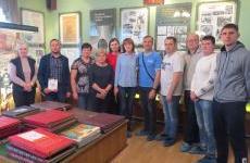 """Сотрудники """"ГАЗПРОМА"""" посетили музей энергетики Пензенской ТЭЦ-1."""