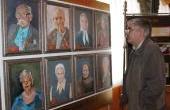 4 апреля 2013года. Выставка портретов  ветеранов  ВОВ и Трудового фронта к  70 -летию ТЭЦ-1.