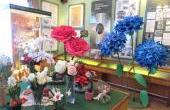"""С 1 по 20 апреля 2019 года в музее энергетики Пензенской ТЭЦ-1 прошла выставка """"Весеннее настроение. Цветы для женщин"""""""